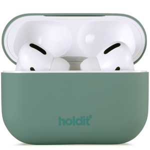 Holdit Silicone Case AirPods Pro Nygård Moss Green