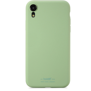 Holdit Mobilskal Silicone iPhone XR Jade Green