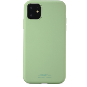 Holdit Mobilskal Silicone iPhone 11 Jade Green