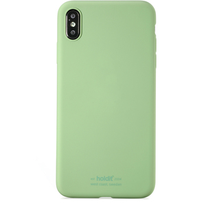 Holdit Mobilskal Silicone iPhone Xs Max Jade Green