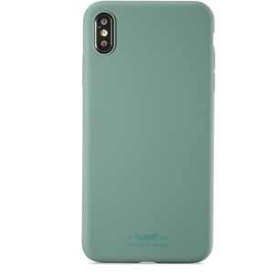 Holdit Mobilskal Silicone iPhone Xs Max Moss Green