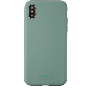 Holdit Mobilskal Silicone iPhone X/Xs Moss Green