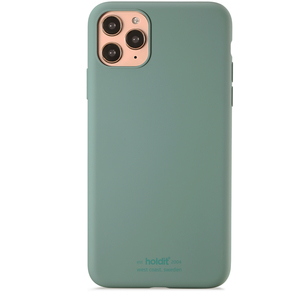 Holdit Mobilskal Silicone iPhone 11 Pro Max Moss Green