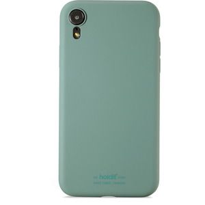 Holdit Mobilskal Silicone iPhone XR Moss Green