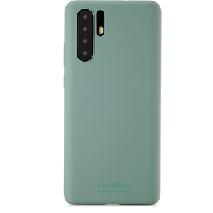 Holdit Mobilskal Silicone Huawei P30 Pro Moss Green