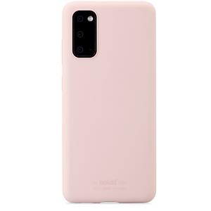 Holdit Mobilskal Silicone Galaxy S20 Blush Pink