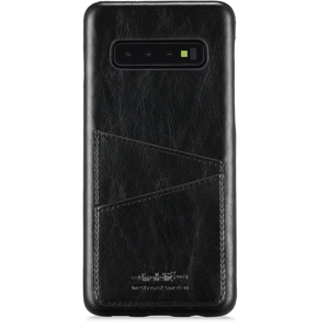 Holdit Mobilskal Galaxy S10 Cardslot Black