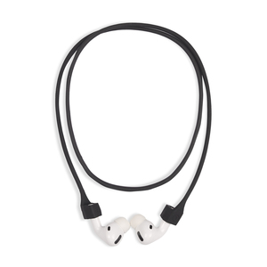 Holdit Silicone Earphone Strap Black