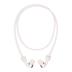 Holdit Silicone Earphone Strap White