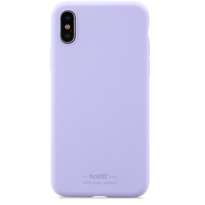 Holdit Mobilskal iPhone X/XS Silicone Lavender