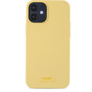 Holdit Mobilskal iPhone 12 Mini Silikon Yellow