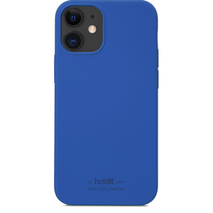 Holdit Mobilskal iPhone 12 Mini Silikon Royal Blue