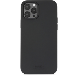 Holdit Mobilskal iPhone 12 / 12 Pro Silikon Black