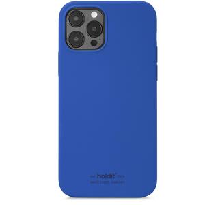 Holdit Mobilskal iPhone 12 / 12 Pro Silikon Royal Blue