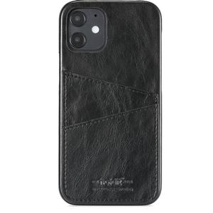 Holdit Phone Case iPhone 12 / 12 pro Cardslot Black