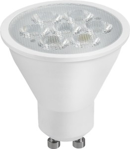 LED-reflektor, 4 W bas GU10, 35 W ekvivalent, varmvit, inte dimbar