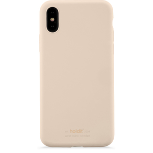 Holdit Mobilskal Silicone iPhone X/Xs Beige