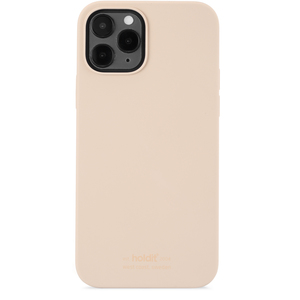 Holdit Mobilskal iPhone 12 / 12 Pro Silikon Beige