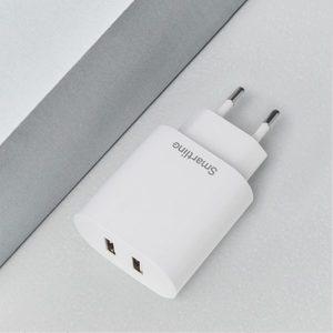 UNIVERSAL USB LADDARE 2 X USB 4.8A, VIT