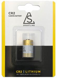 Batteri CR2, 3V, Li-on, 1-pack