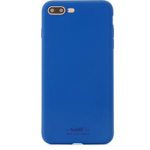 Holdit Mobilskal Silikon iPhone 7/8 Plus Royal Blue
