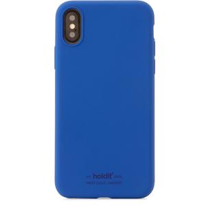 Holdit Mobilskal Silikon iPhone X/XS Royal Blue