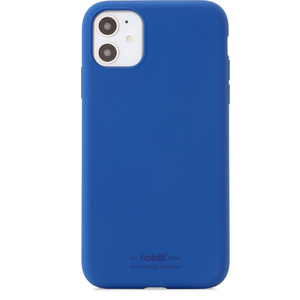 Holdit Mobilskal Silikon iPhone 11 Royal Blue