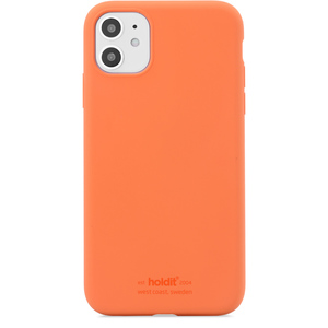 Holdit Mobilskal Silikon iPhone 11 Orange