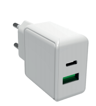 SmartLine Wall charger PD 18W+USB-A 3.0