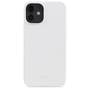 Holdit Silicone Case iPhone 12 Mini White
