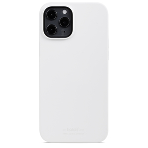 Holdit Silicone Case iPhone 12 Pro Max White