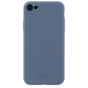 Holdit Silicone Case iPhone 7/8/SE Pacific Blue