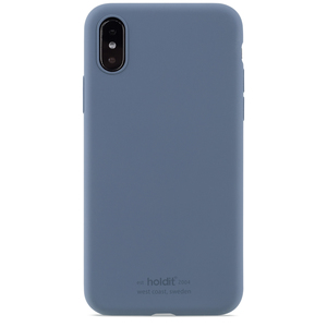 Holdit Silicone Case iPhone X/Xs Pacific Blue