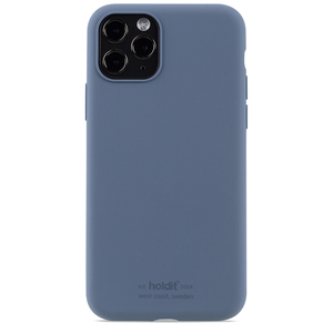 Holdit Silicone Case iPhone 11 Pro Pacific Blue