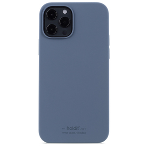 Holdit Silicone Case iPhone 12/12 Pro Pacific Blue
