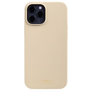 Holdit Silicone Case iPhone 12 Pro Max Beige