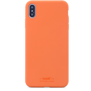 Holdit Silicone Case iPhone XS Max Orange