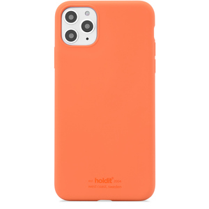 Holdit Silicone Case iPhone 11 Pro Max Orange