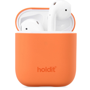 Holdit Silicone Case AirPods Nygård Orange