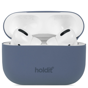 Holdit Silicone Case AirPods Pro Nygård Pacific Blue