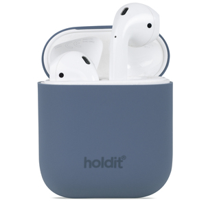 Holdit Silicone Case AirPods Nygård Pacific Blue