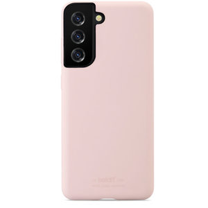 Holdit Silicone Case Galaxy S21 Blush Pink