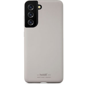 Holdit Silicone Case Galaxy S21 Taupe