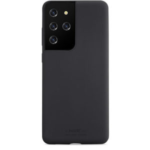Holdit Silicone Case Galaxy S21 Ultra Black