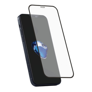 Holdit Tempered Glass iPhone 12/12 Pro 3D Full cover Black frame