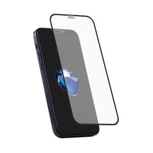 Holdit Tempered Glass iPhone 12 Mini 3D Full cover Black frame