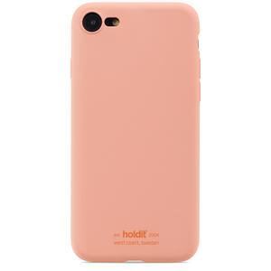 Holdit Mobilskal Silikon iPhone 7/8/SE Pink Peach