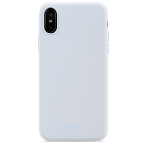 Holdit Mobilskal Silikon iPhone X/XS Mineral Blue