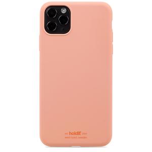 Holdit Mobilskal Silikon iPhone 11 Pro Max Pink Peach