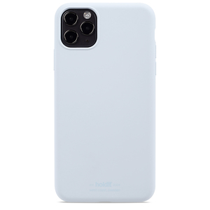 Holdit Mobilskal Silikon iPhone 11 Pro Max Mineral Blue